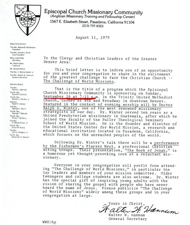 ECMC Letter