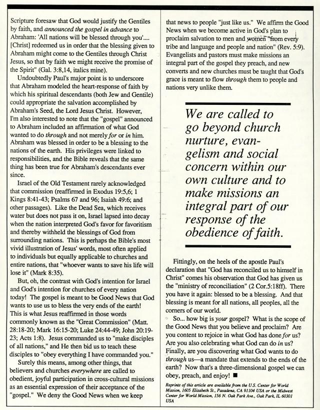 Darrell Dorr's Article 1988 p2