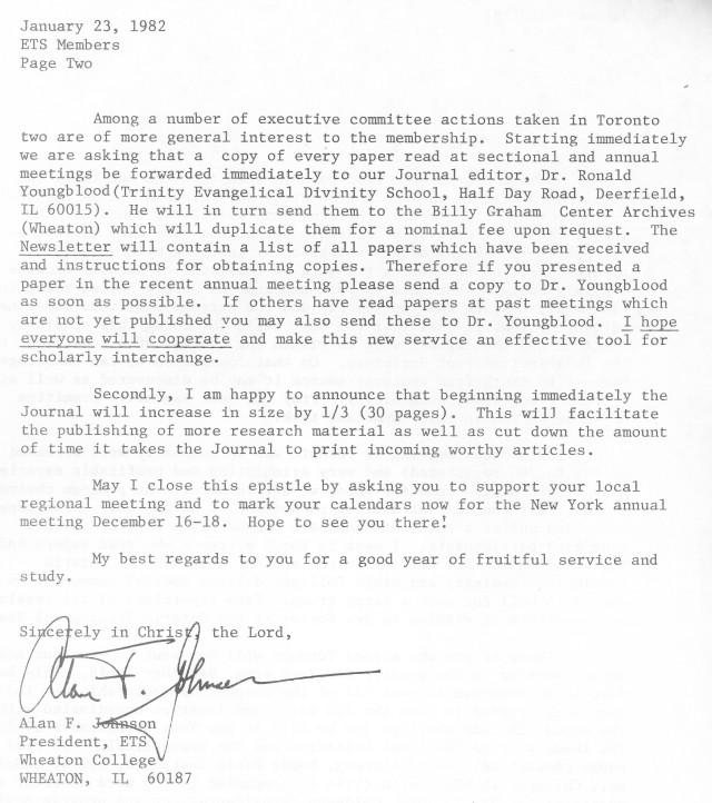 ETS Letter 1 23 1982 p2
